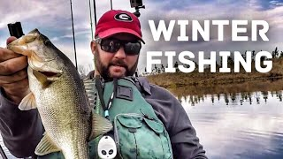 Winter Bass Fishing - Tips and Techniques when it's Cold