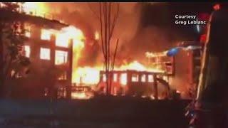 Fire Destroys 5 Buildings In Waltham Apartment Complex