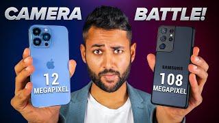 Apple iPhone 13 Pro Max vs Samsung Galaxy S21 Ultra CAMERA TEST