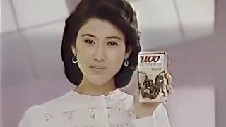 UCCコーヒーチェリーCM1985年沢田亜矢子