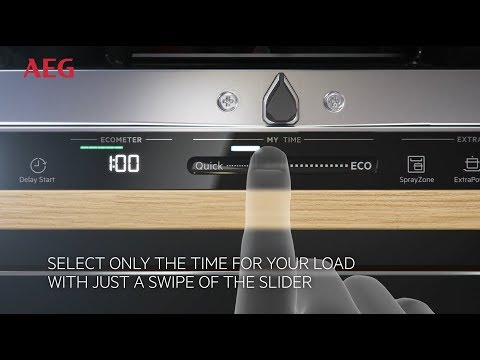 AEG Built In 60 Cm Dishwasher Fully FSS63607P - Fully Integrated Video 3