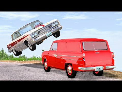 High Speed Traffic Crashes #33 - BeamNG Drive | CrashBoomPunk