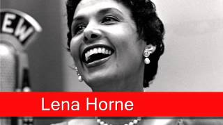 Lena Horne: People Will Say We're In Love