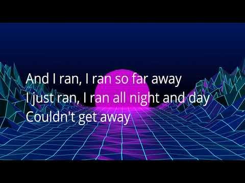 A Flock of Seagulls-- I Ran(lyrics on screen)