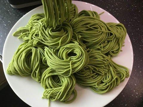 Philips Pasta Maker frische gefärbte Hartweizennudeln in 10 Min