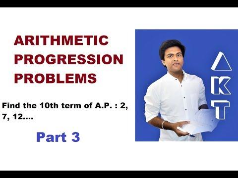 Arithmetic Progression Problems: Class 10: PART 3