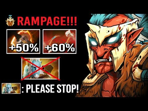 How To DELETE Phantom Cancer EZ! Battle Fury Troll Rampage Epic Cleave vs Illusions WTF Dota 2
