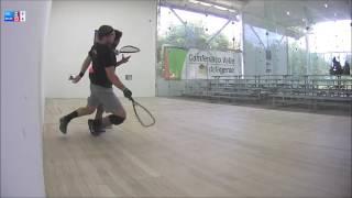 2016 Racquetball World Championships Mens Singles Semifinal De La Rosa MEX vs Murray CAN