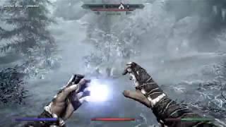 Skyrim Выживание Грот Серая Вода, Кровавый трон, Южное святилище Серия 36