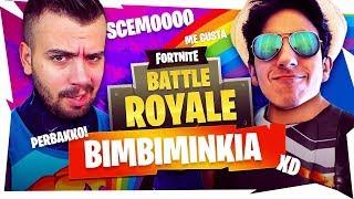 BIMBIMINKIA SU FORTNITE #3 - GaBBo & Delux DUE BAMBINI SPECIALI ♥