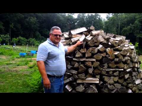 Holzhaufen - Traditional German Firewood Stacking