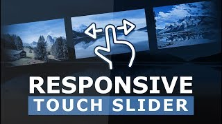 Responsive Touch Slider With Html CSS and jQuery - Mobile Touch Slider using Swiper.js