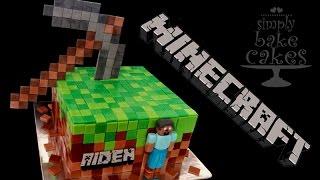 MINECRAFT TNT CAKE How To Make By CakesStepbyStep Most Popular Videos - Minecraft hauser verschonern
