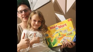 Vlog: Tag1 Chayenne und Papa spielen WORT für WORT