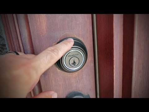 Kwikset Kevo Powered By UniKey – Unboxing And Install