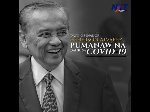 [ABS-CBN]  Dating Senador Heherson Alvarez, pumanaw na dahil sa COVID-19 | NXT