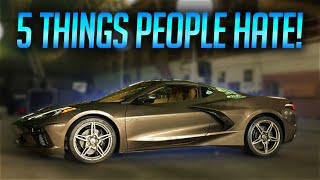 5 Things People HATE About The 2020 Corvette C8!
