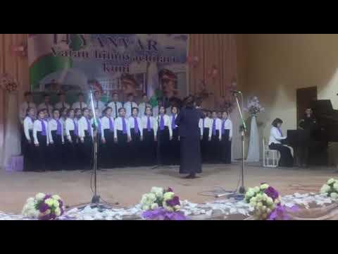 Ученический хор Андижанской специализированной школы искусств Республики Узбекистан