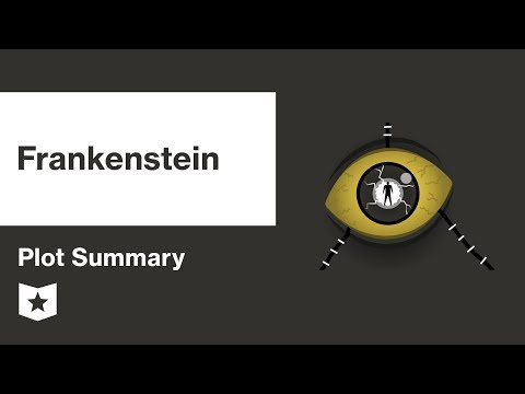 frankenstein plot summary brief