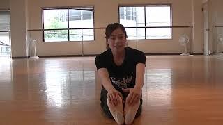 宝塚受験生のダンス講座~ストレッチ~のサムネイル