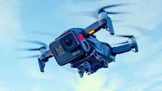 GoPro HERO7 + Mavic Air = Best Drone Ever? | TechKaboom