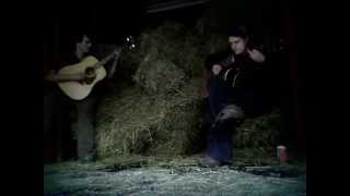 """[Day #250] """"Strawfoot"""" by 16 Horsepower (live cover by Ian Ste Croix & Marvin Ratchet in the Straw)"""