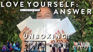 Gambar cover UNBOXING BTS 방탄소년단 LOVE YOURSELF: 結 ANSWER!! (S, E, L, F: 4 VERSIONS) ♡