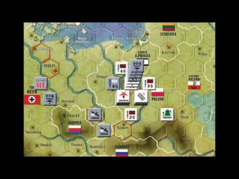 Scenario 1 Example of Play for The War: Europe 1939-1945