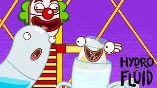 HYDRO и FLUID   В цирке   Мультфильмы для детей   WildBrain