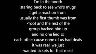 Eminem - The Apple /w Lyrics