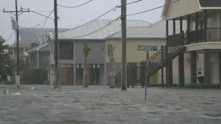 Tropical Storm Barry inundates the Gulf Coast