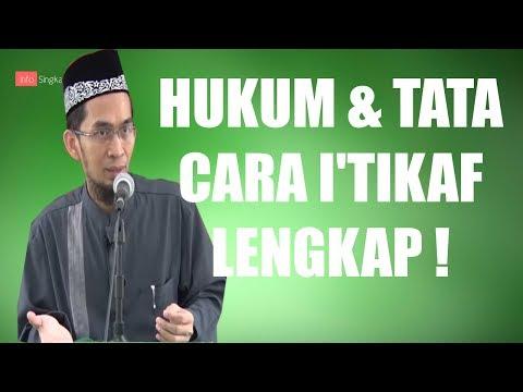 Video Hukum & Tata Cara i'tikaf | Ustadz Adi Hidayat,LC,MA