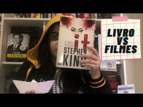 IT A COISA Stephen King: Livro vs Filme | Lendo com Bia