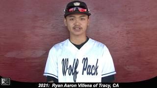 2021 Ryan Villena Athletic Shortstop Baseball Skills Video