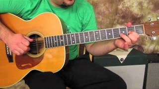 Stuck in the Middle with you- Stealers Wheel - Easy Songs on Acoustic Guitar - Lessons - beginner -