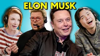 Adults React to Elon Musk