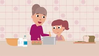 Forget dementia, remember the person - animation movie