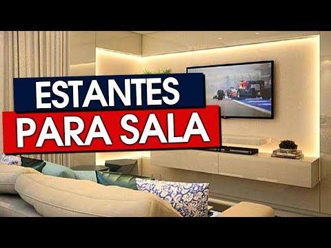 50 ESTANTES PARA SALA MODERNAS E CLÁSSICAS