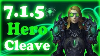 First Day of 7.1.5! Hero Cleave! - Mistweaver Monk PvP