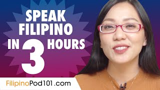 Learn How To Speak Filipino In 3 Hours
