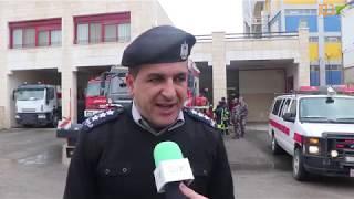 الدفاع المدني في نابلس يؤكد جاهزيته للمنخفضات