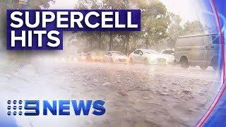 Torrential rain sweeps NSW east coast | Nine News Australia