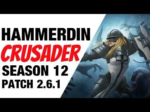 Diablo 3 Crusader Hammerdin Build Season 12 Patch 2.6.1
