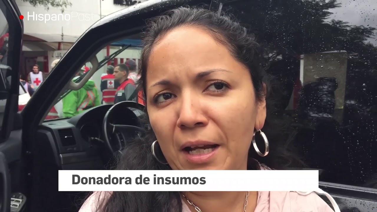 El desastre natural movilizó la solidaridad de los mexicanos
