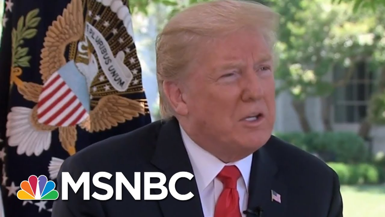 President Donald Trump Criticizes Fed Chair And Threatens More Tariffs | Velshi & Ruhle | MSNBC thumbnail