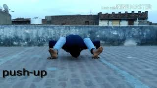 My pusup video bcoz hard working n Very difficult hota h yeah ha deko plz subscribe jarur karna Bhai
