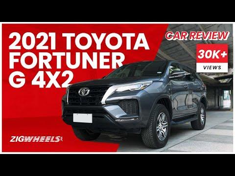 2021 Toyota Fortuner G 4x2 Review | Zigwheels.Ph