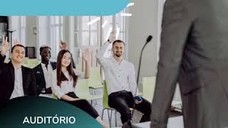 PALESTRANTE Tenha um auditório profissional para sua palestras, por apenas R$70/hora!