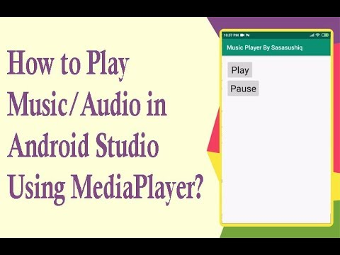 How to create a Audio Player using ListView and SeekBar in Android