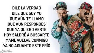 Dile La Verdad - Jowell & Randy X Manuel Turizo ( Letra Oficial )